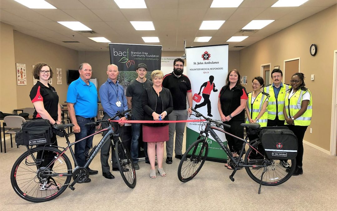St. John Ambulance Brandon Medical First Responder Bike Patrol