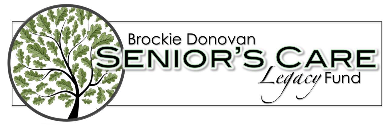 Brockie Donovan Senior's Care Legacy Fund Logo
