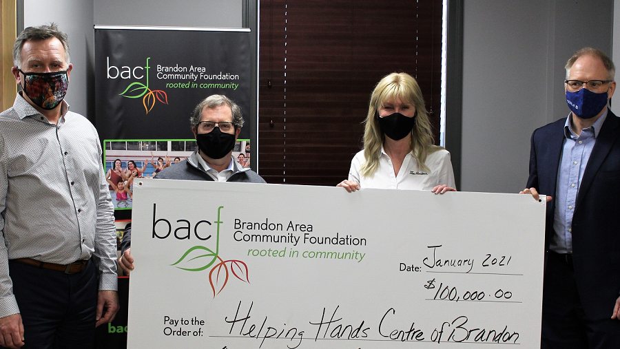 Helping Hands Centre of Brandon Awarded Grant