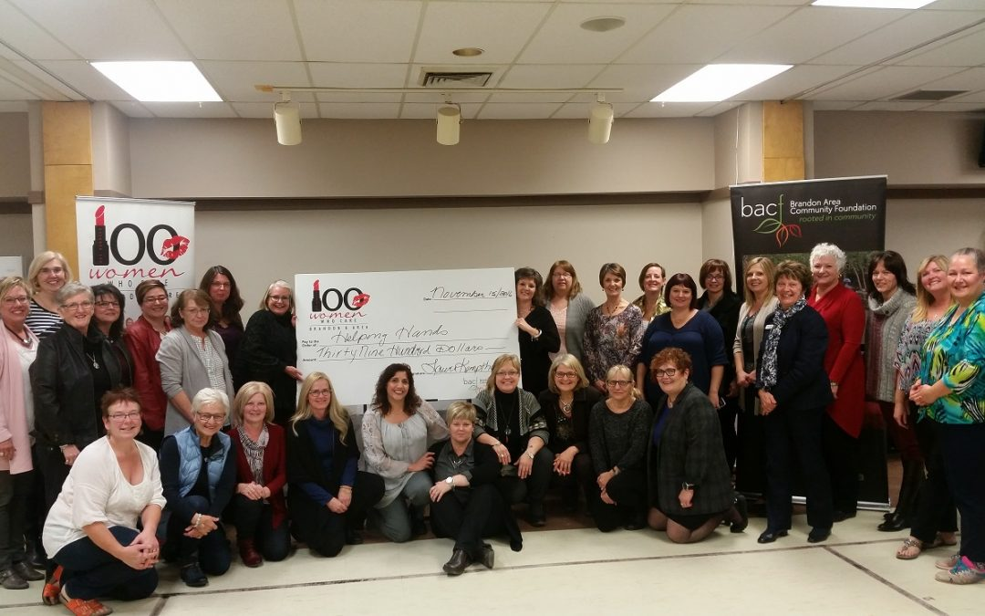 100 Women Who Care Brandon and Area